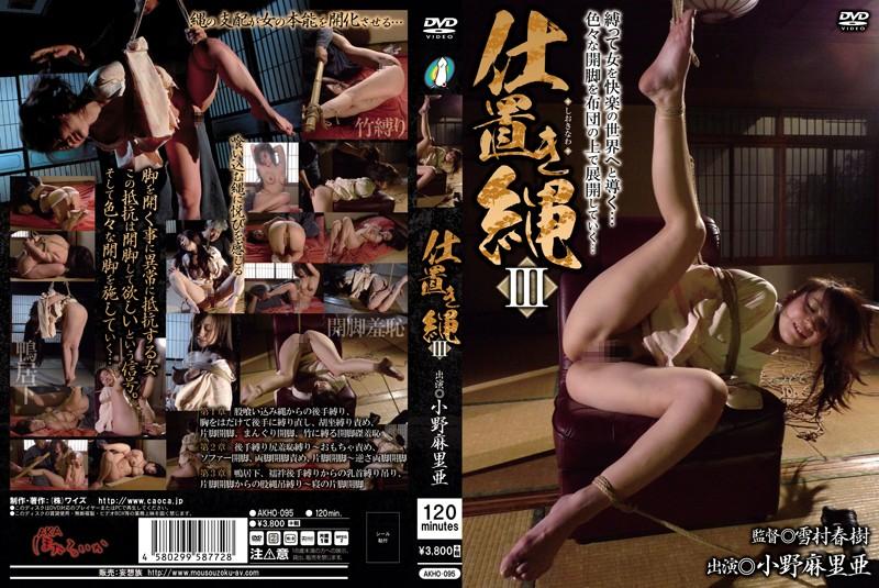 [AKHO-095] Ono Maria 仕置き縄3 【激安アウトレット】 2017/01/06