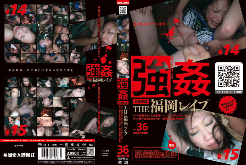 CAL-036 Push Rape A Woman Walk Through The Streets At Night ... Mansion Tailing Fukuoka # 14 RAPE THE! # Video Assault Abduction Painful Scream Echoing Population ... 15 ...