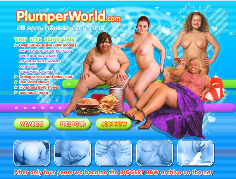 Plumperworld Site Rip