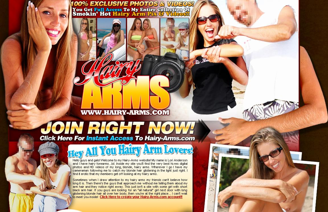 Hairy-arms Site Rip