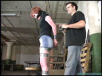 Futile Struggles : Amanda Marie Taped And Roped