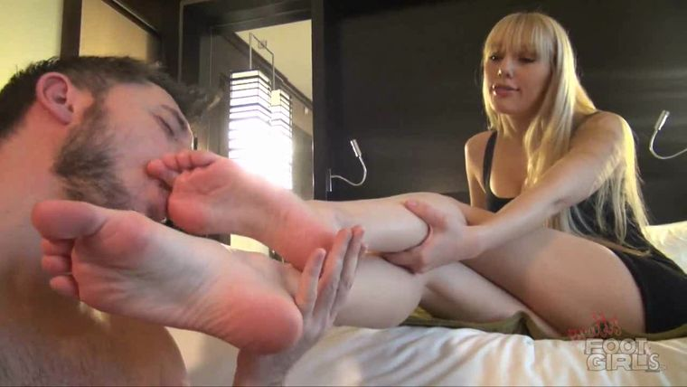 image Foot face domination renee roulette went to