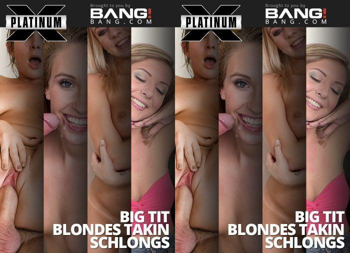 Big Tit Blondes Takin Schlongs (Platinum X Pictures/2017)