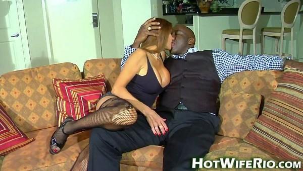 Hot Wife Rio : Big Black Knight 14