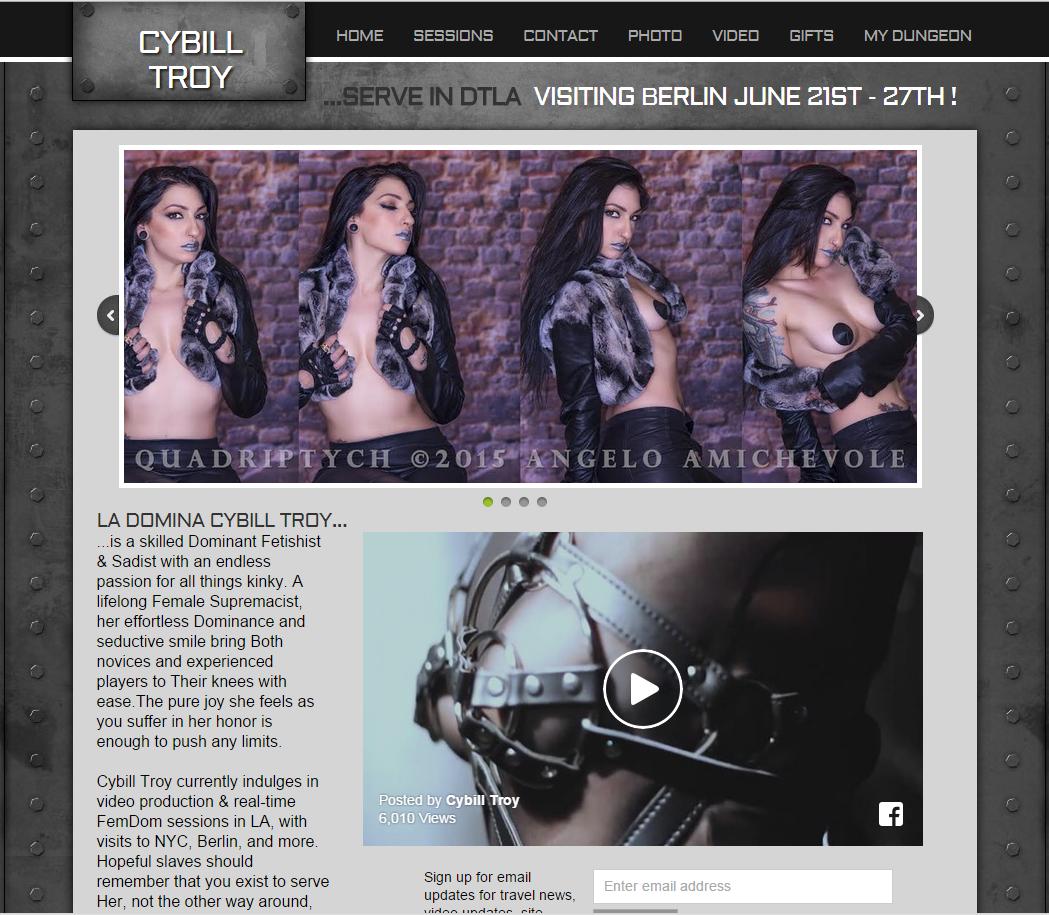 CybillTroy.com – SITERIP Videos