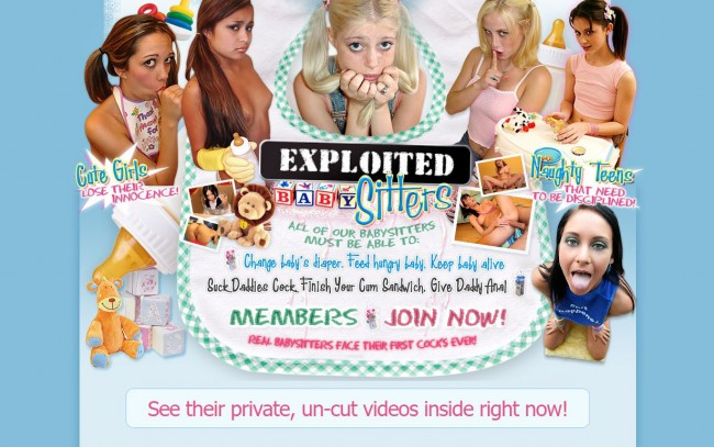 ExploitedBabySitters.com – SITERIP Videos