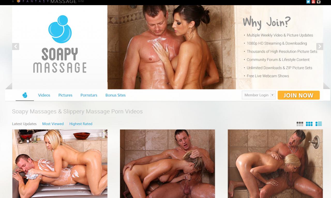SoapyMassage.com – SITERIP Videos